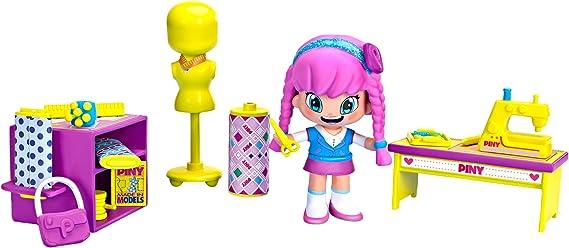 Pinypon by PINY PINY - Muñeca Michelle en clase de diseño (Famosa 700014143): Amazon.es: Juguetes y juegos