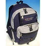 Bag Street 0000411440105 - Mochila deportiva (nailon), color azul y gris