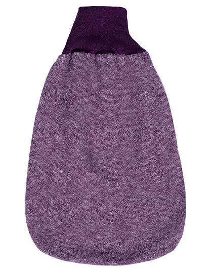 Cosilana, Pelele, forro polar, 100% lana violeta Talla:16 inch
