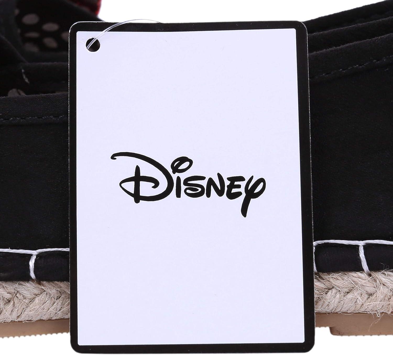 Espadrilles Noires avec Noeud Minnie Disney