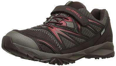 a8304513c621 Merrell Boys  Capra Bolt Low a C Waterproof Rise Hiking Shoes ...