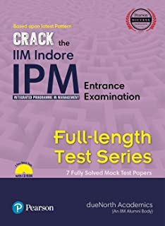buy the pearson guide to iim indore ipm integrated programme in