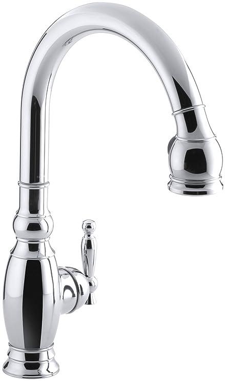 Merveilleux KOHLER K 690 CP Vinnata Kitchen Sink Faucet, Polished Chrome