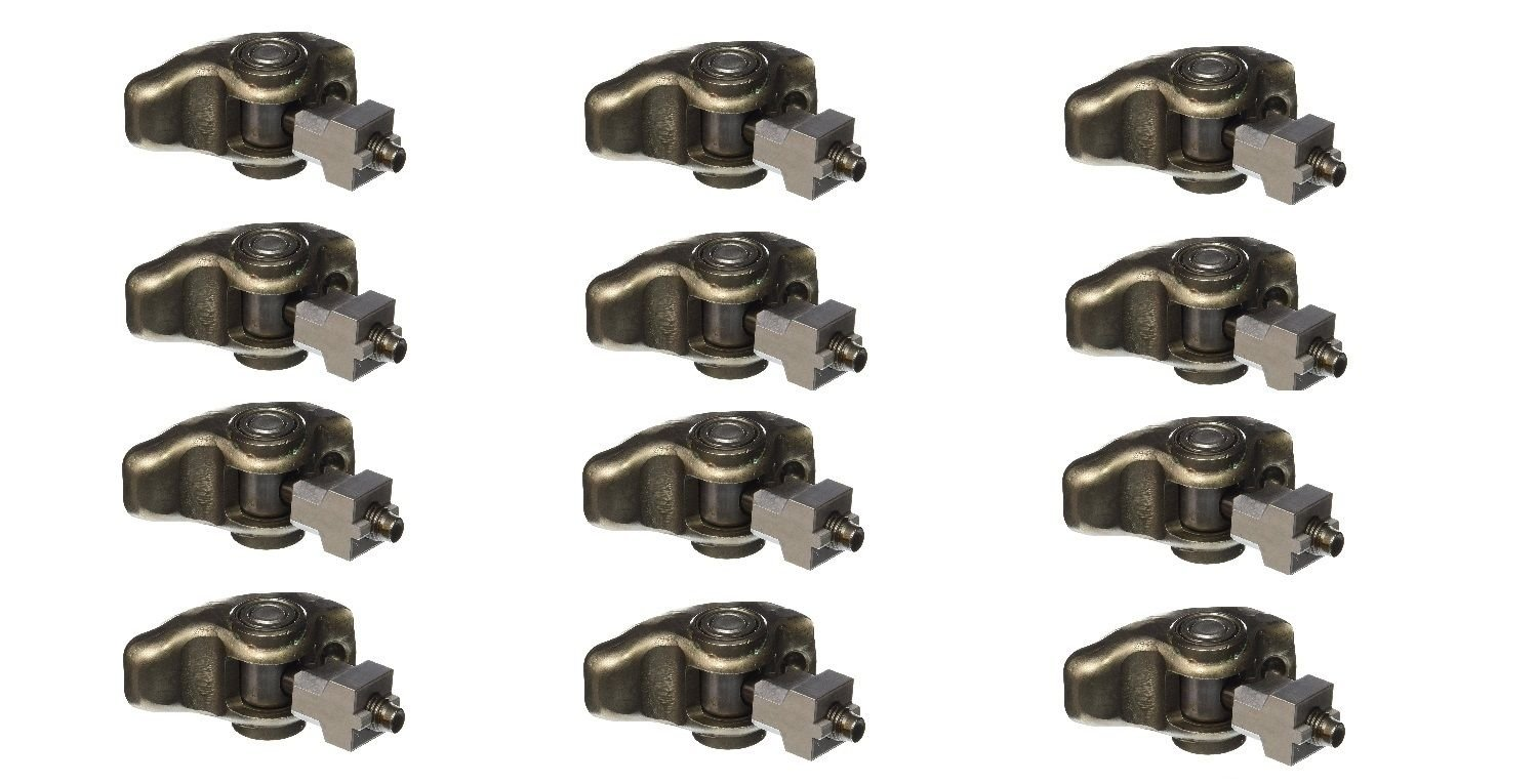 Michigan Motorsports 3.4L V6 Roller Rocker Arms with 8mm bolts Replaces GM 2005-2009 12594509 QTY 12QTY 1