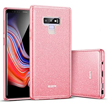 ESR Funda para Samsung Galaxy Note 9, Estuche Protector Brillante Glitter [Tres Capas] [Admite Carga Inalámbrica] para Samsung Galaxy Note 9 (Lanzado ...