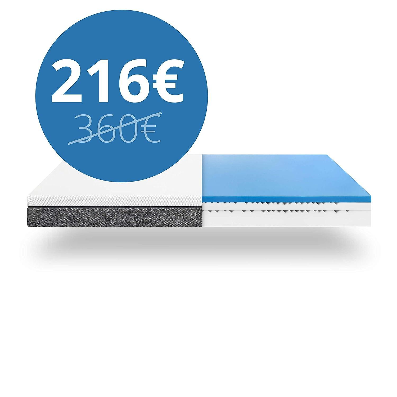 Emma One Matratze 100x200 cm bequeme bequeme bequeme 5-Zonen-Kaltschaummatratze 100 Nächte probeschlafen b9faf5