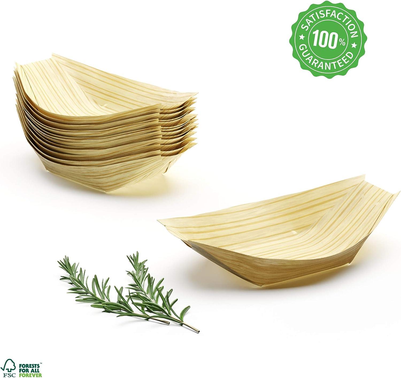 Platos Desechables Biodegradables 100 uds 15cm Vajilla Bebe Platos ...