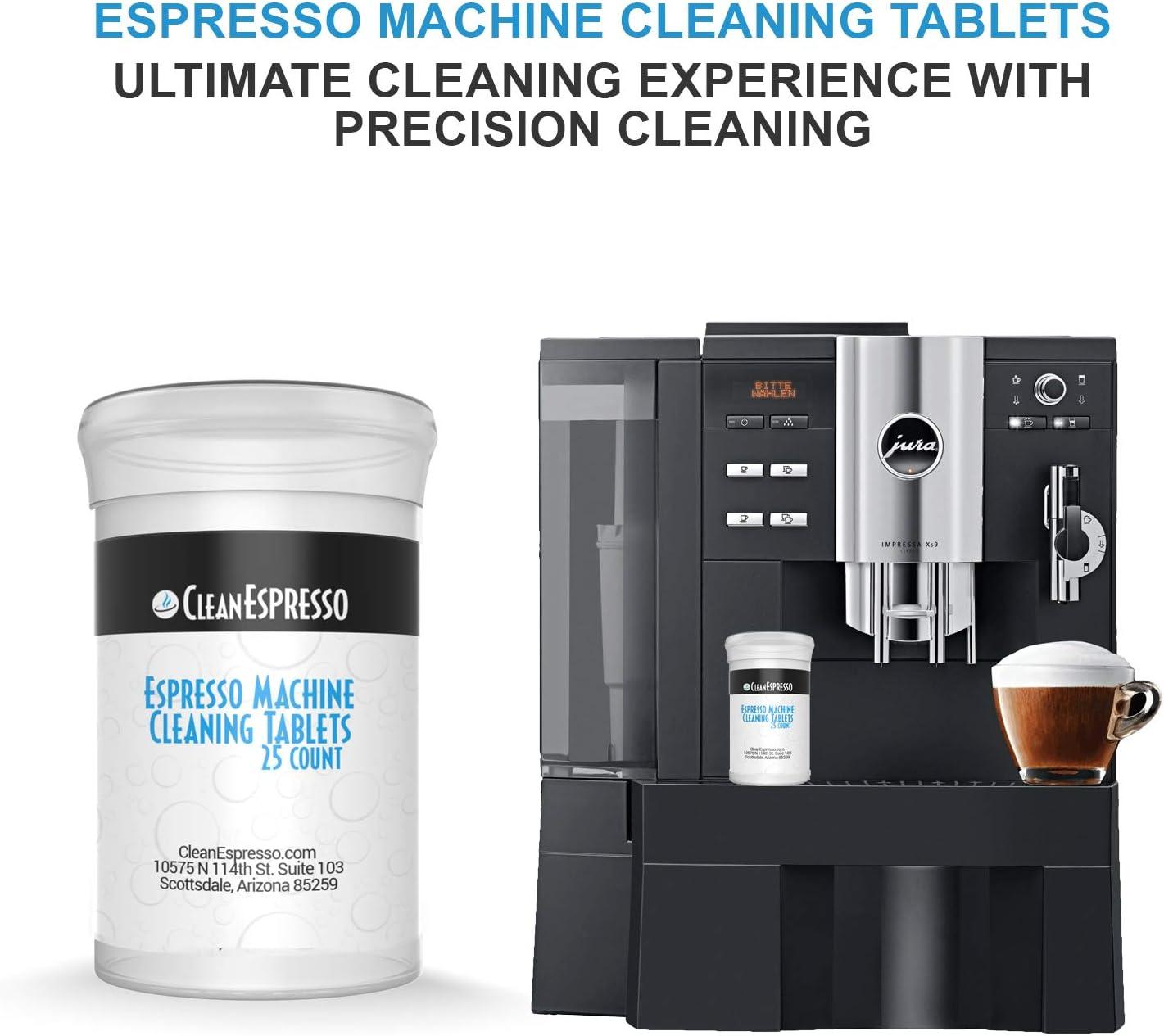 Amazon.com: Máquina de café Pastillas De Limpieza – Modelo ...