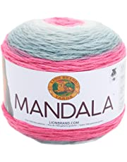 Lion Brand Yarn 525-200Mandala de Lana, Unicorn, 1, 1
