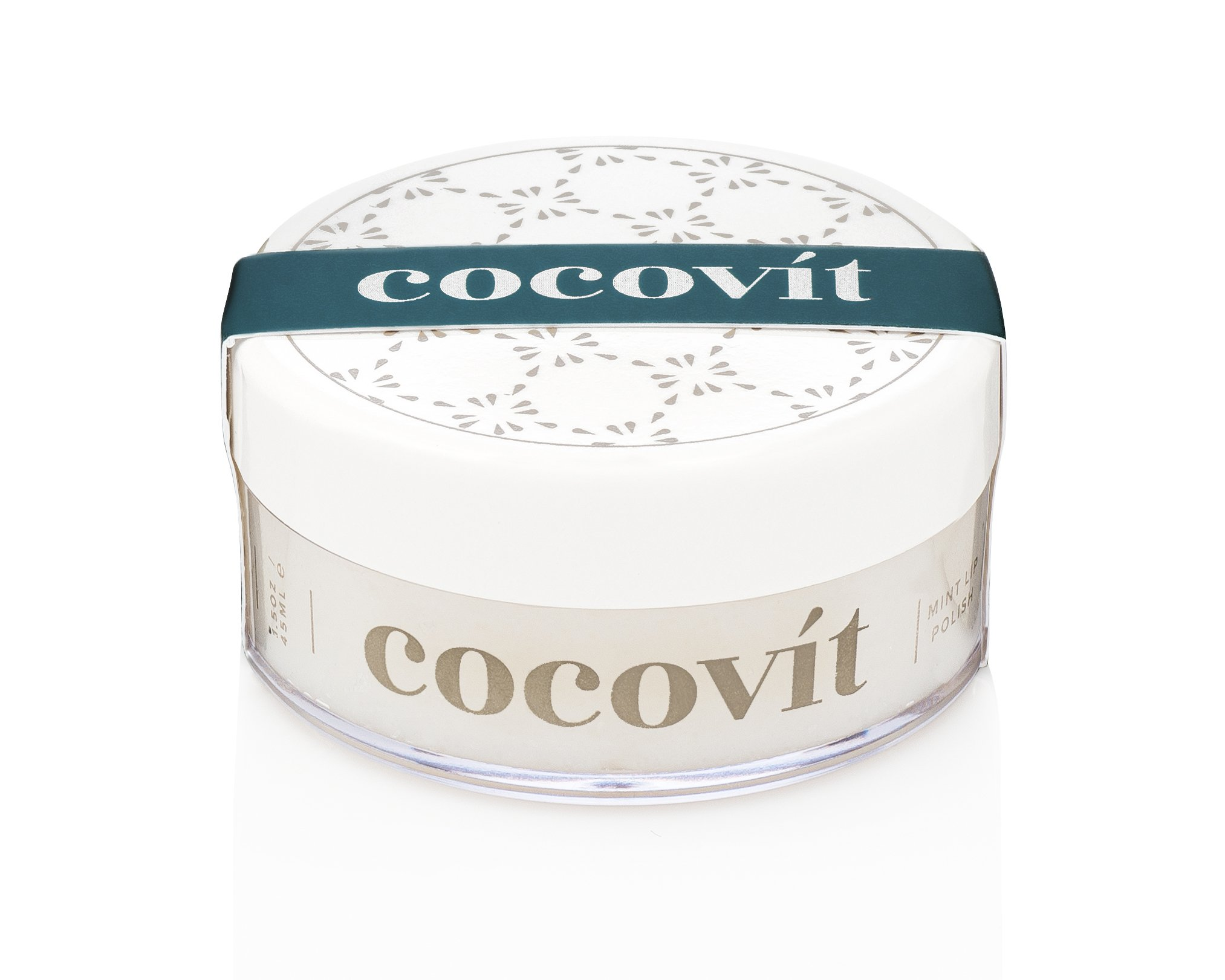 Cocovit - Organic Exfoliating and Hydrating Mint Lip Polish (1.5oz)