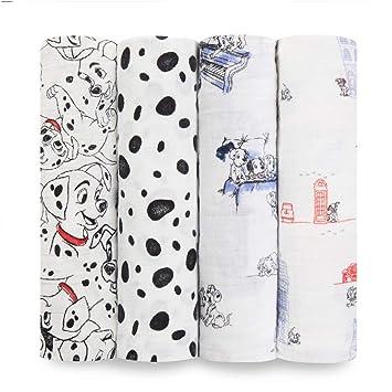 Amazon.com: aden + anais Disney Classic Swaddle 4 Pack - 101 ...