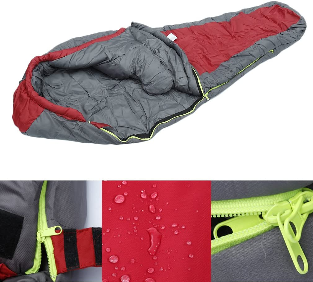 OUTAD Outdoor Winter Camping Waterproof Warming Single 1.5KG 1.8 KG Sleeping Bags