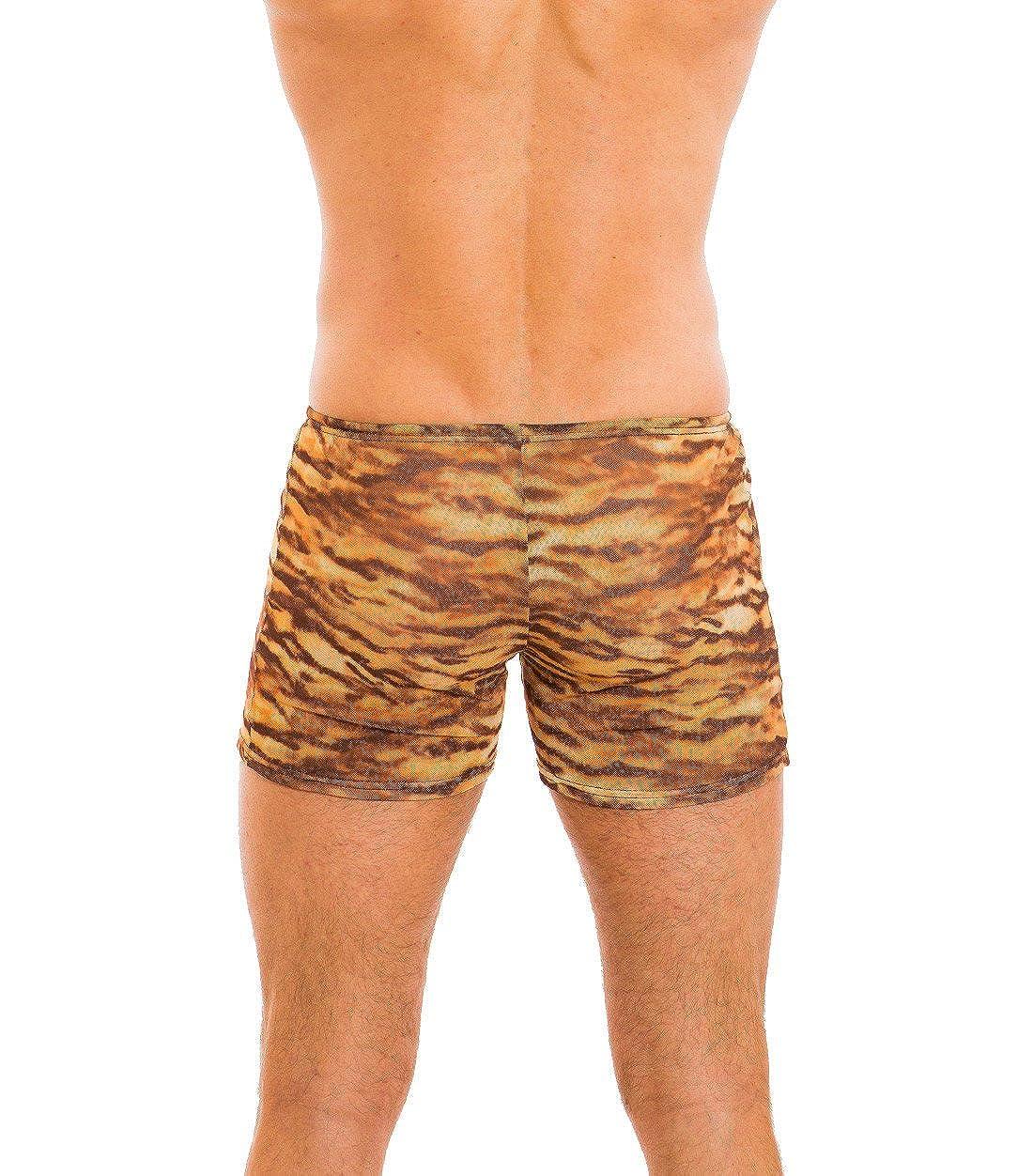 36b8174af8df3 Kiniki Sara Tan Through Swim Shorts Swimwear | Amazon.com