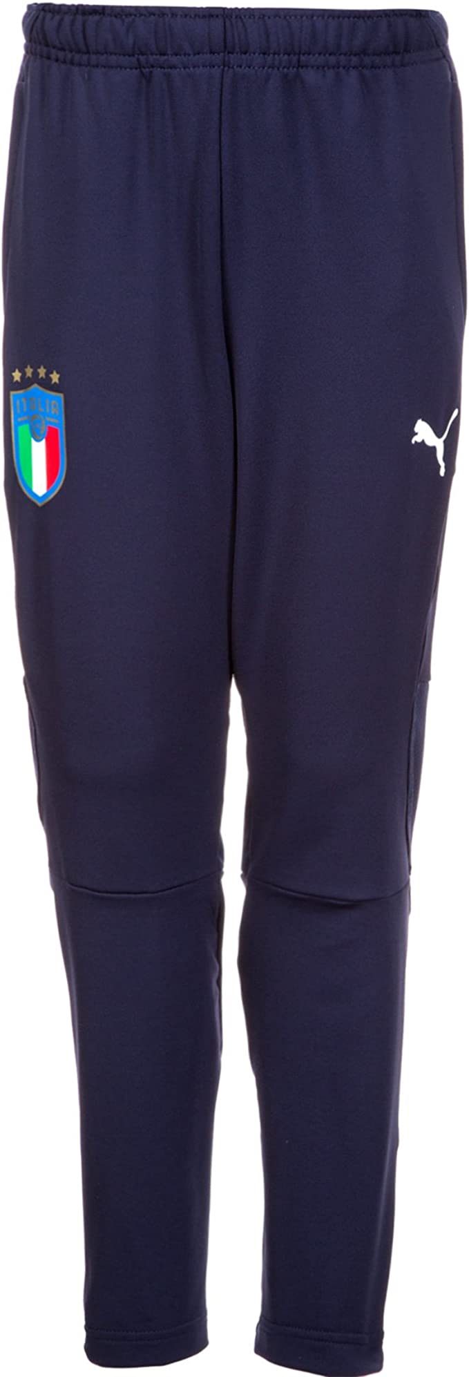 PUMA FIGC Italia Training Pants Zipped Pockets Jr Pantalón, Niños ...