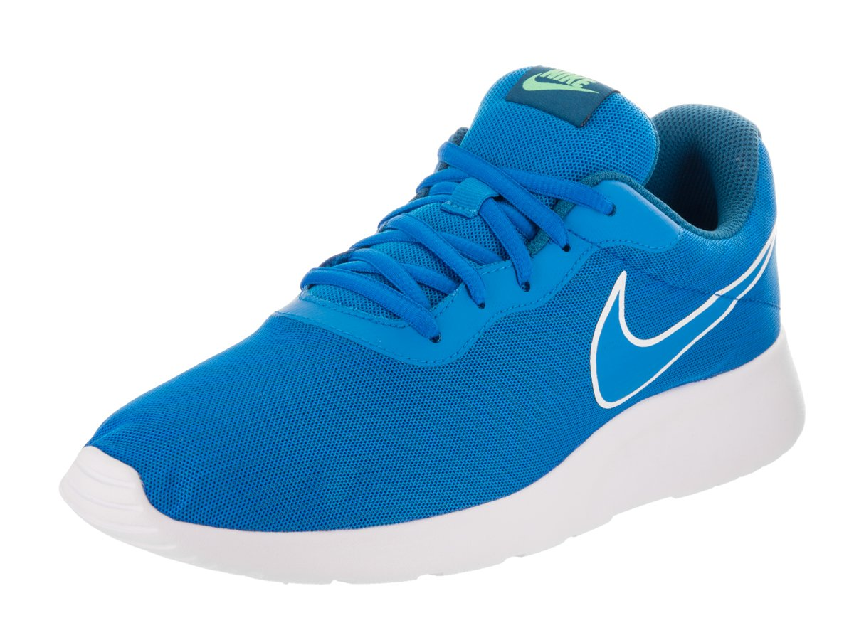 Nike Herren Tanjun Prem Sneaker  42.5 EU|Blau (Photo Blue/Industrial Blue/Electro Green/Photo Blue)