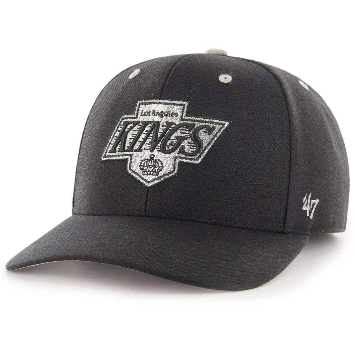 47 Gorra Ajustable Marca Audible Los Angeles Kings Color Negro ...
