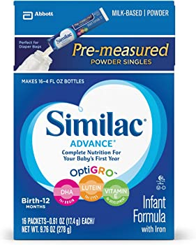 64-Count Similac Advance Infant Formula On-the-Go Powder Sticks