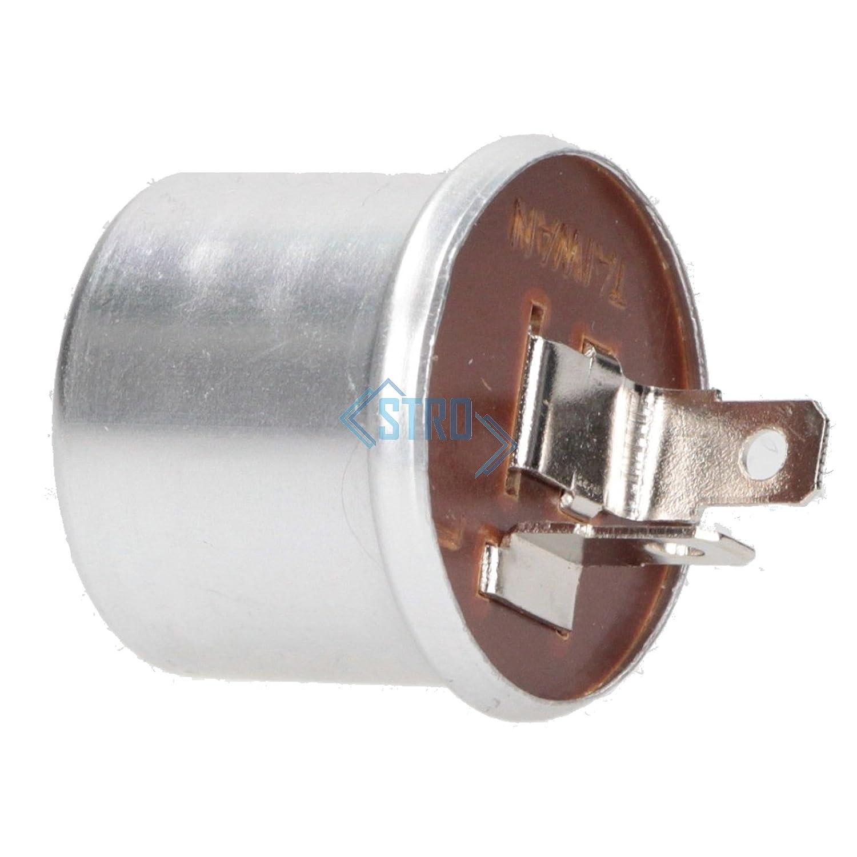 Universal Blinkgeber Blinkrelais mechanisch 12V 2-polig 1-2 x 21 Watt