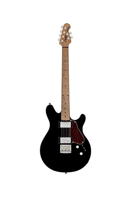 Sterling By Music Man James San Valentín firma guitarra eléctrica w/Gig Bolsa – Negro