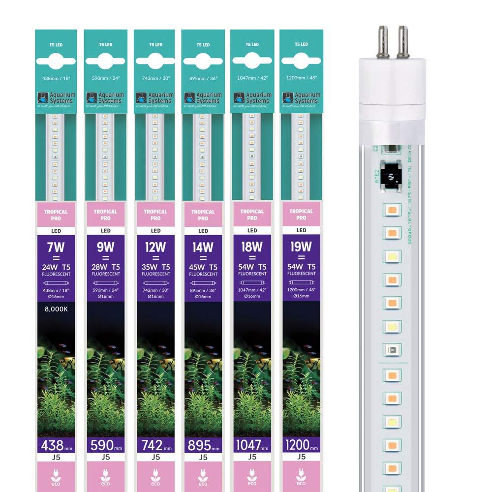 Acquario Systems Tubo T5 LED Originale Tropicale PRO per aquariophilie 89,5 cm 14 W