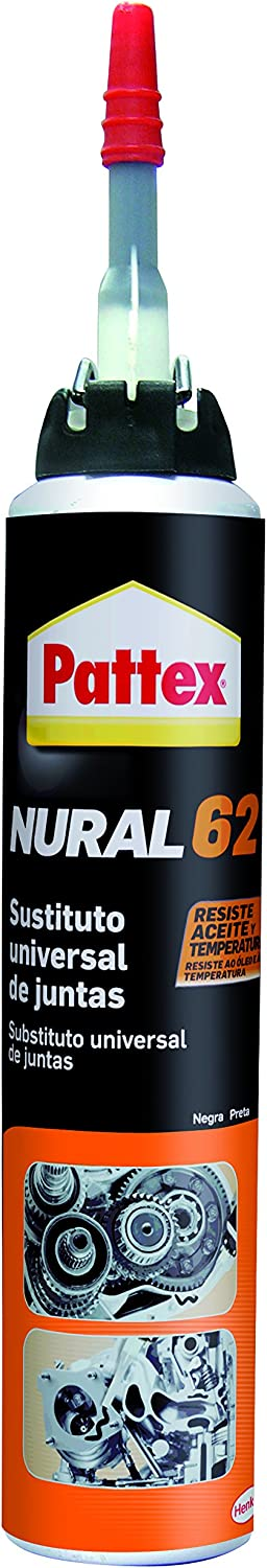 Pattex Nural 62 sustituto universal de juntas, color negro, 100 ml