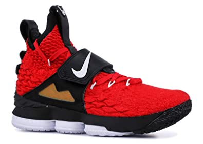 competitive price a121c 330c5 Nike Lebron 15 XV Red Diamond Turf Prime Deion Sanders Size 10.5 AO9144-600
