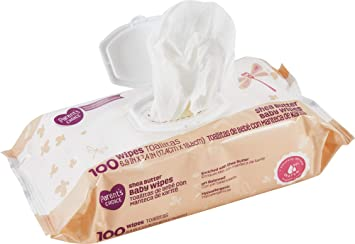 Parents Choice Shea Butter Baby Wipes (100 Wipes)