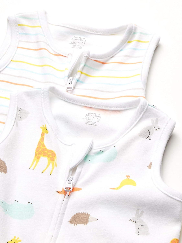 Essentials Unisex 2-Pack Cotton Baby Sleep Sack