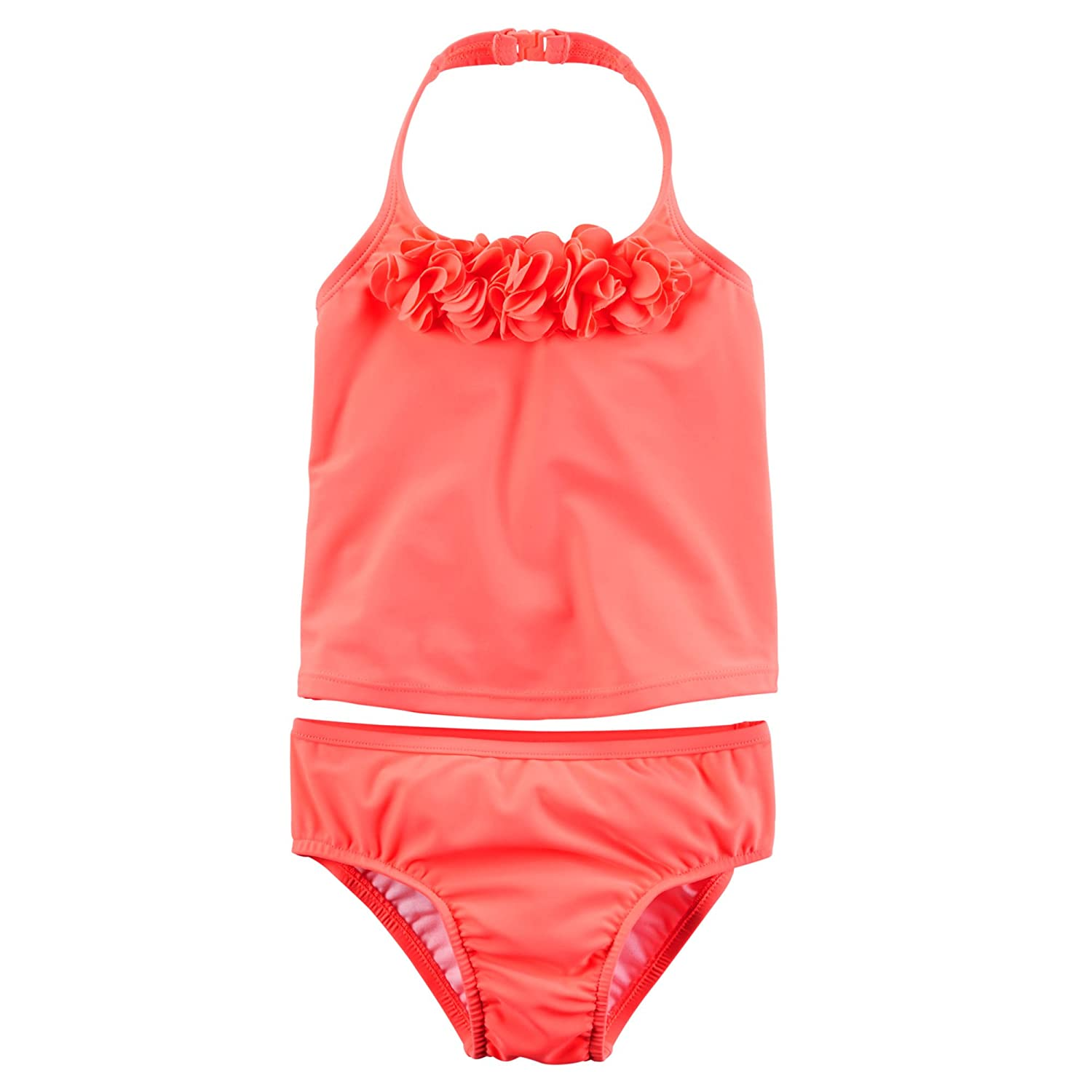 Carter's Baby Girls' Rosette Tankini Set 3-6 Months Coral SC16H14