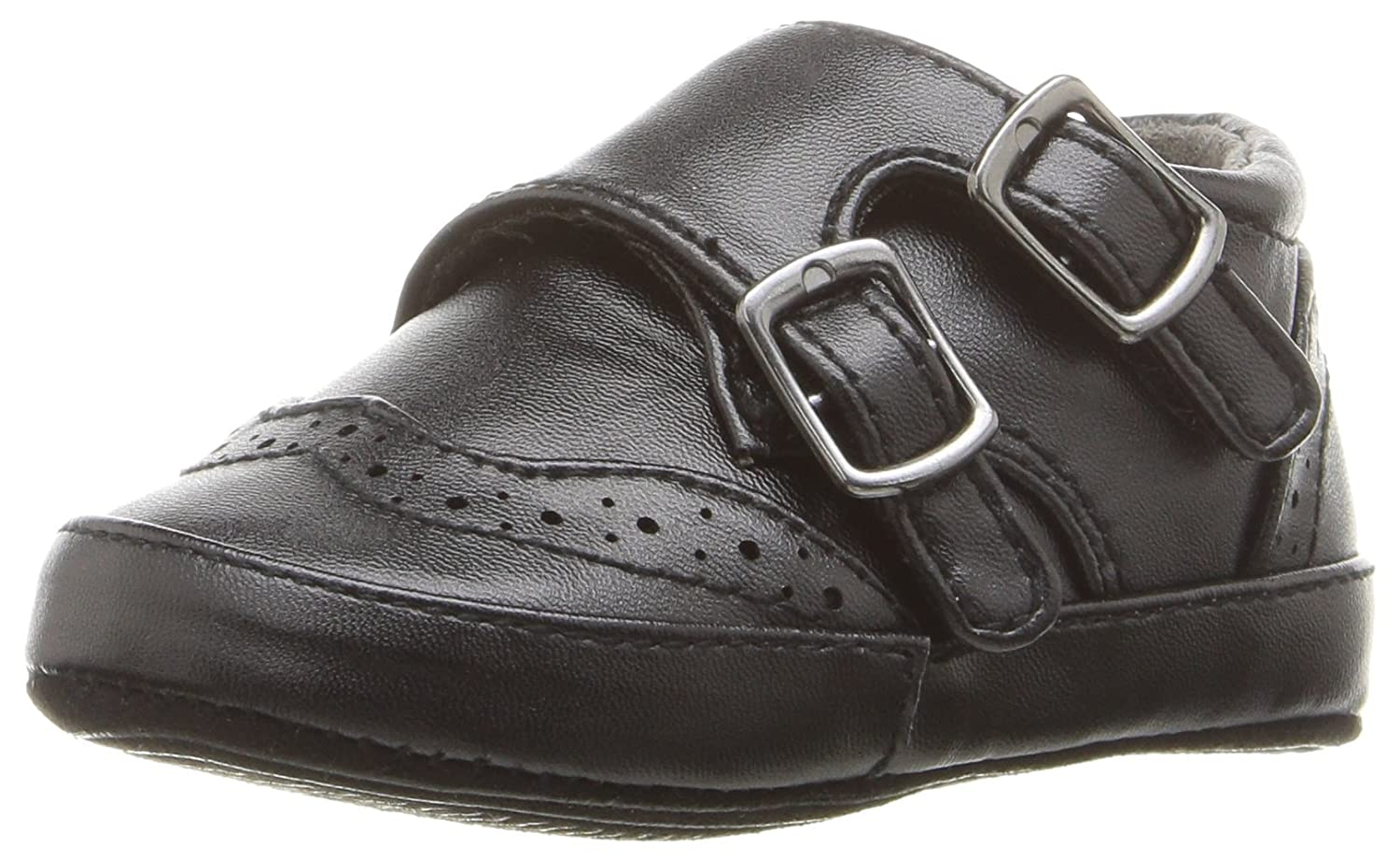 Kenneth Cole REACTION Baby Club Monk-K Oxford Black 1 M US Infant Baby Club Monk - K