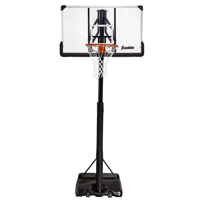 Franklinスポーツバスケットボールフープ – 本物 – クリア – ポータブル – Driveway – Street – 48