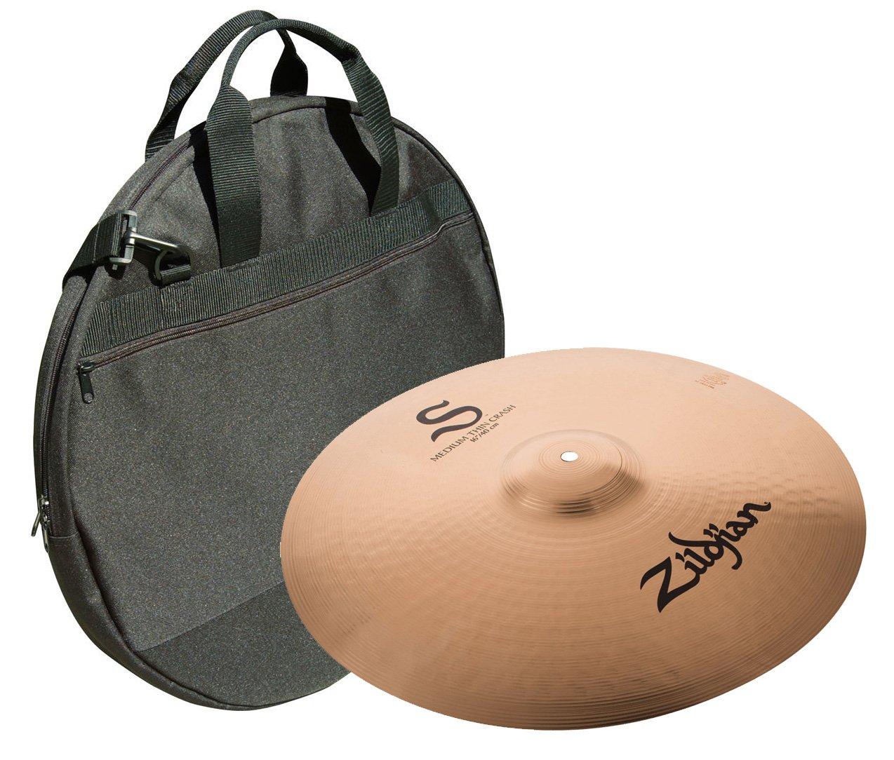 Zildjian S16MTC 16'' S Medium Thin Crash w/ Cymbal Bag