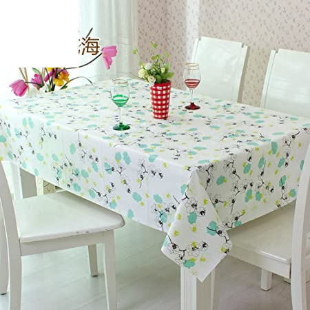Disposable Tablecloths Table Cloth Water And Oil Proof Tablecloth - Office desk table cloth