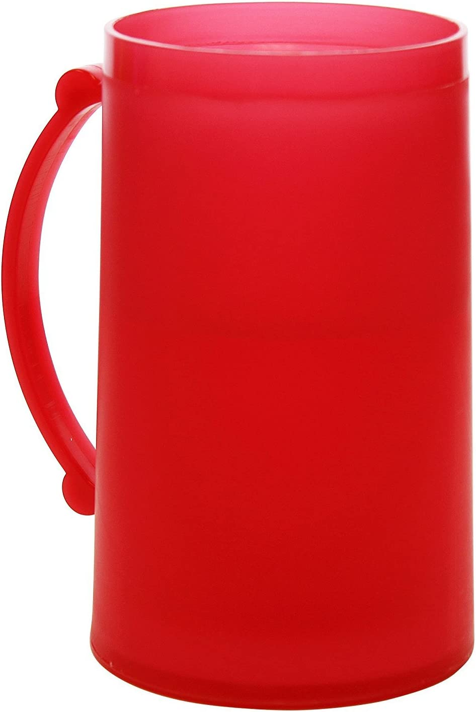 Red Frosty Freezer Mug