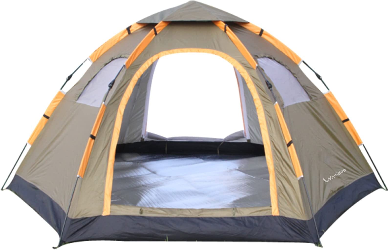 Wnnideo Instant Family Tent 4-5 Person Large Automatic Pop Up Tents Waterproof for Outdoor  sc 1 st  Amazon.com & Family Camping Tents | Amazon.com