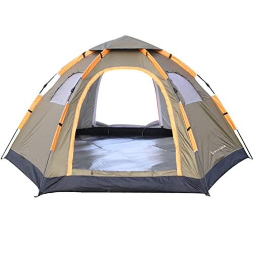 Wnnideo Instant Family Tent 4-5 Person Large Automatic Pop Up Tents Waterproof for Outdoor  sc 1 st  Amazon.com & Amazon Best Sellers: Best Family Camping Tents