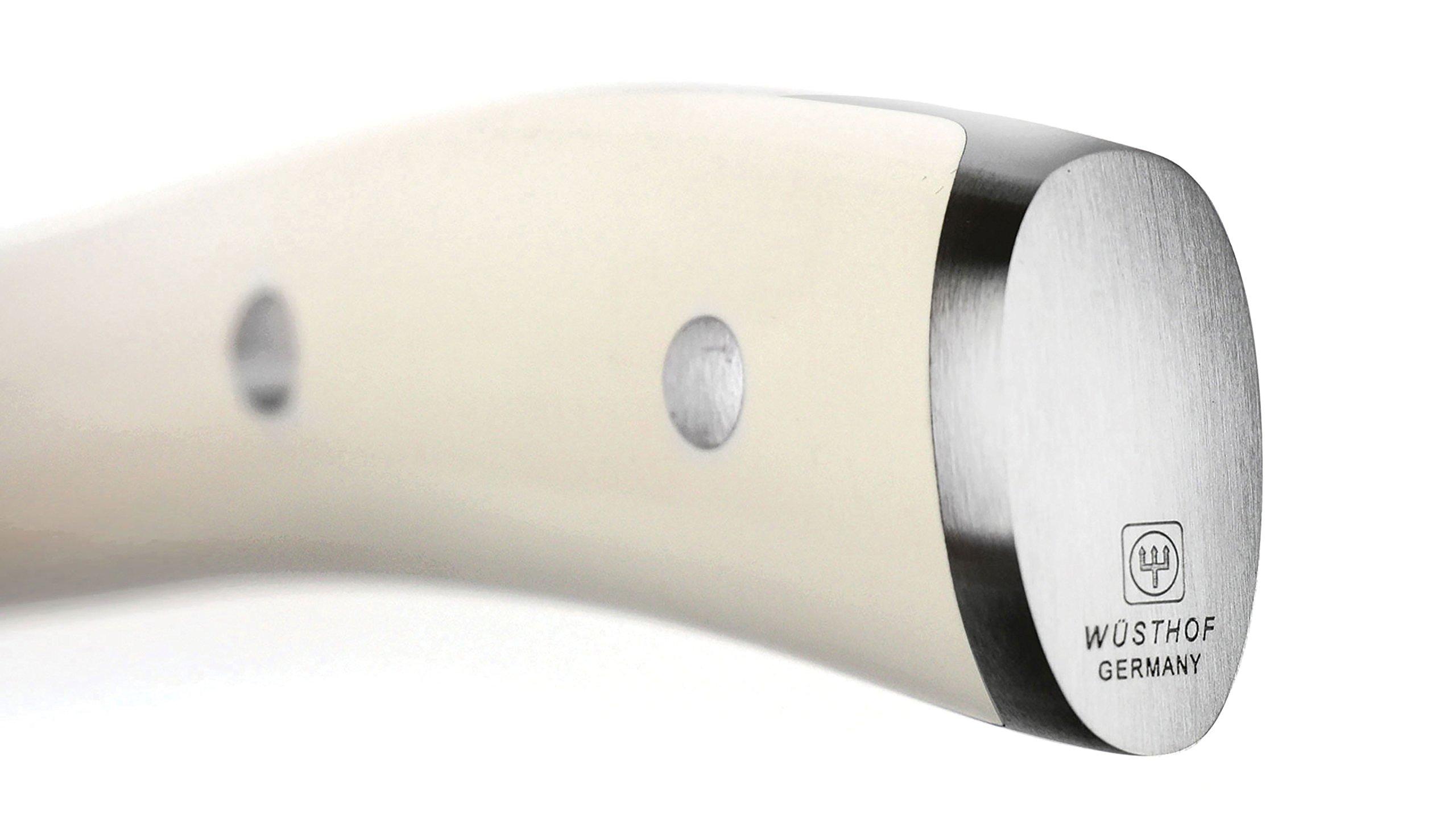 Wusthof Classic Ikon Creme 7-inch Hollow Edge Nakiri Knife, Off-white Handle by Wüsthof (Image #6)