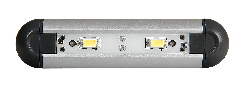 Lampa Luz de la l/Ã/¡mpara interior impermeable 2 led 12v caravana de camiones