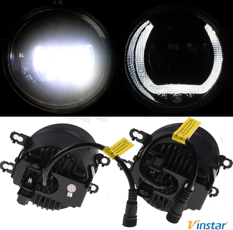 LED Tagfahrlicht WRX mit Zulassung Plug/&Play Nebelscheinwerfer Subaru Impreza