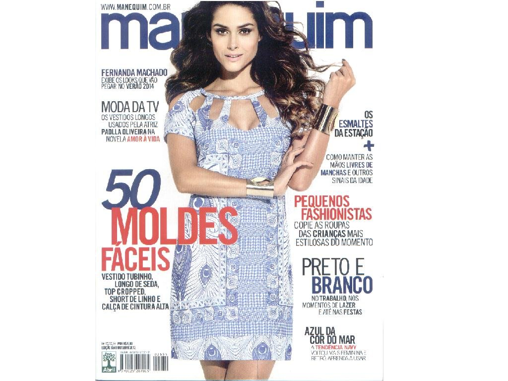 MANEQUIM BRAZILIAN MAGAZINE - Nº 654- 10.2013 / SEWING PATTERNS INSIDE: 9788525049544: Amazon.com: Books