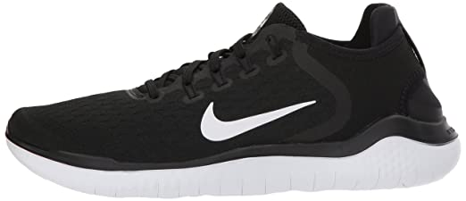 Amazon.com: Nike Womens Free Run 2018 Running Shoes (6 B (M) US, Black/White): Sports & Outdoors