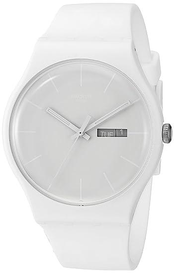 Swatch Reloj Analógico de Cuarzo para Mujer con Correa de Plástico – SUOW701