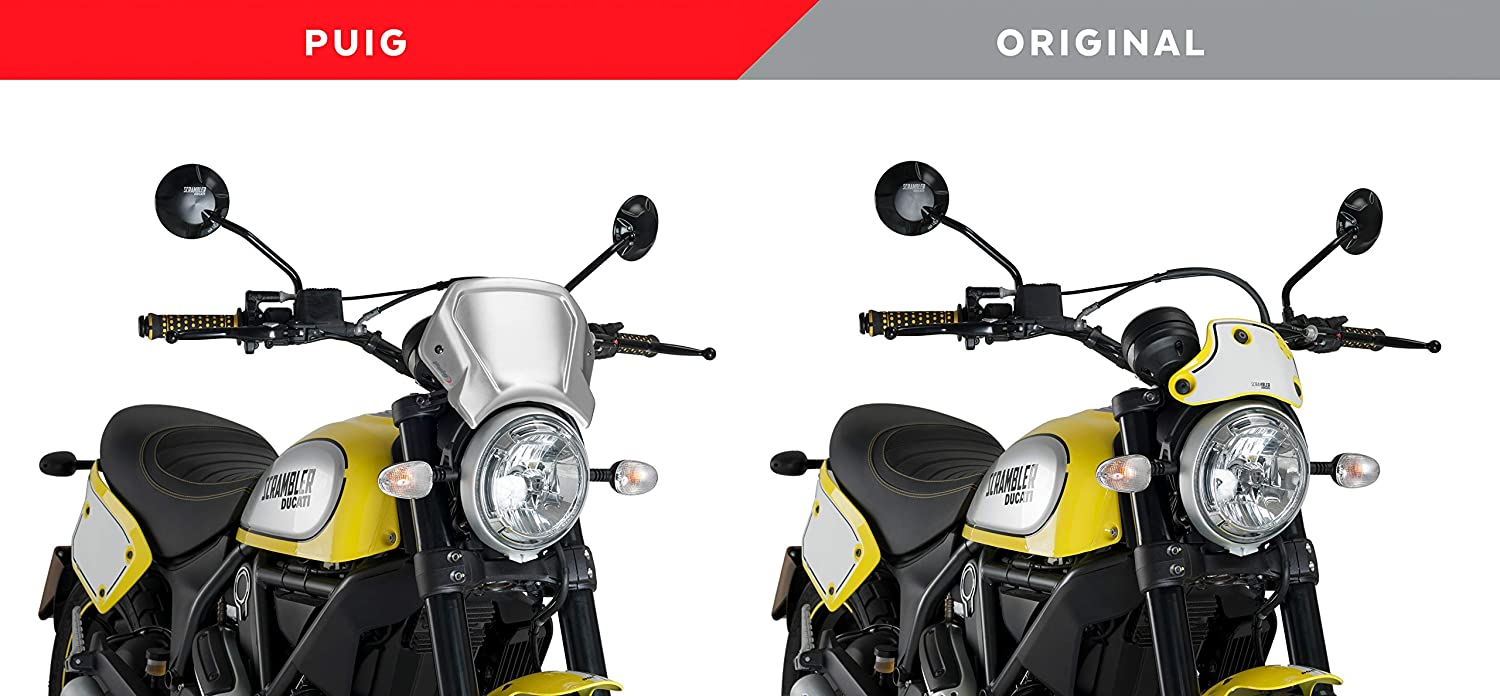 Puig Aluminium Frontal Plate 9799P ICON//Classic//Full Throttle 19 Ducati Scrambler Urban Enduro 15-16