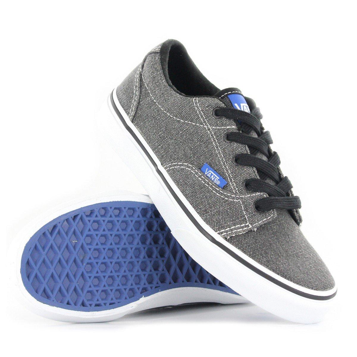 a63b310c5c Vans Classic Kress Grey Blue Kids Trainers Size 1.5 UK  Amazon.co.uk  Shoes    Bags