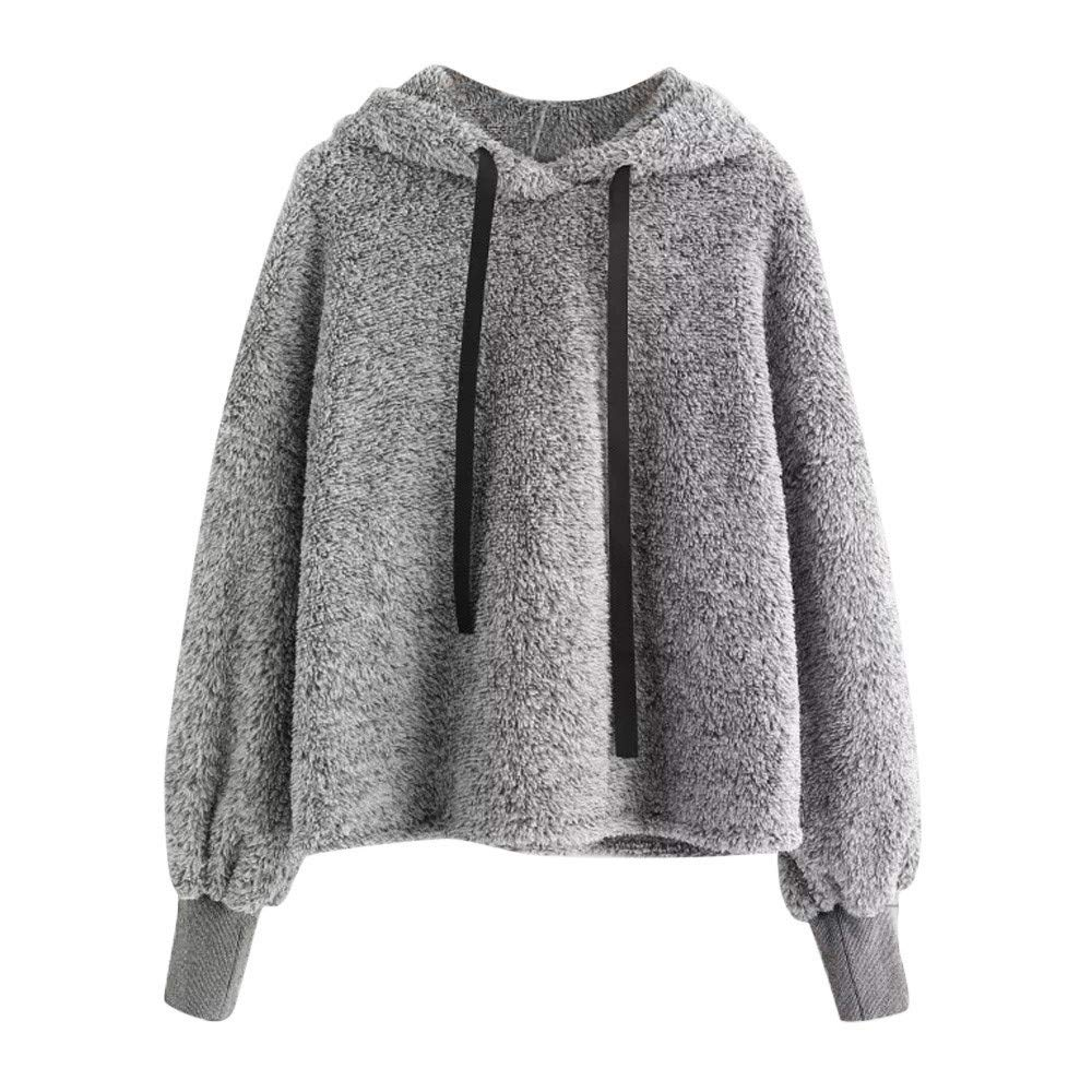 Clearance Women Hoodie Sweatshirt Long Sleeve Warm Winter Coat Jacket Outwear CieKen