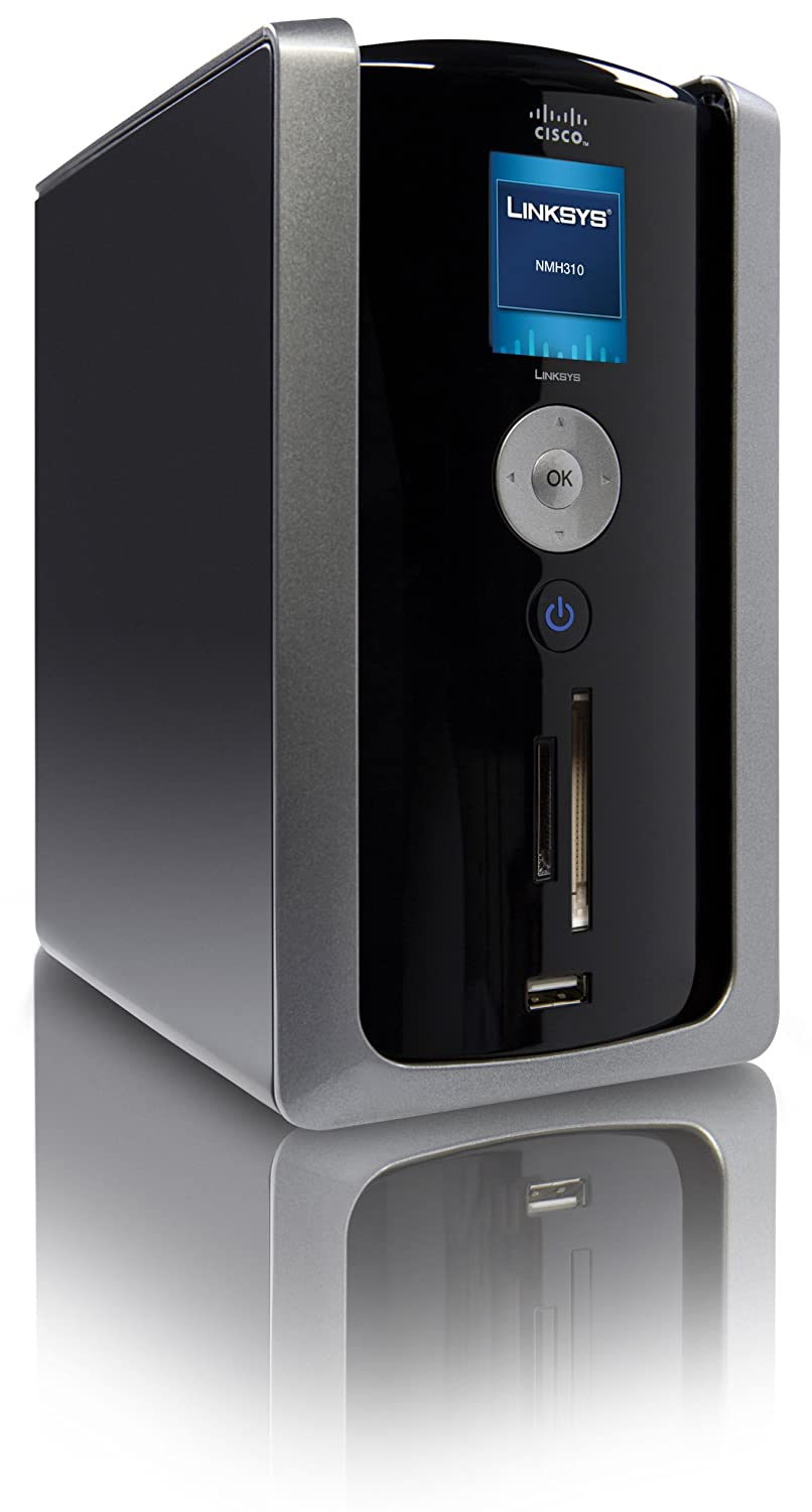 cisco linksys 1 tb media hub with lcd amazon ca electronicsAmazoncom Ciscolinksys 1 Tb Media Hub With Lcd Electronics #2