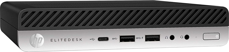 HP 4CB31UT#ABA EliteDesk 800 G4 Mini Intel Core i5 8500T 2.1 GHz Mini PC's, 8 GB RAM, Windows 10 Pro