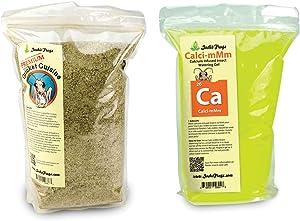 Josh's Frogs Premium Cricket Cuisine and Calcium Watering Gel Bundle (1 Gallon)