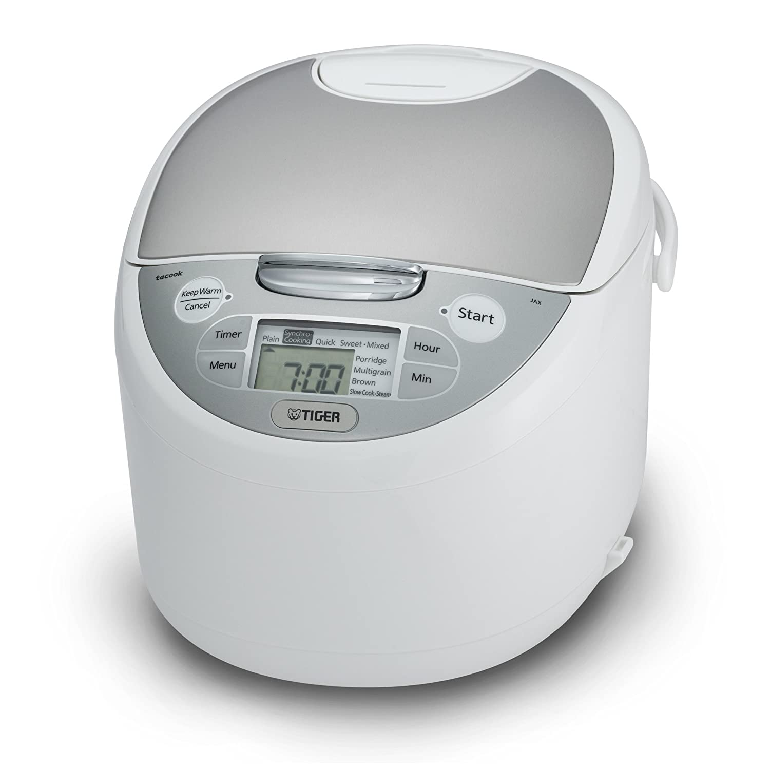 Tiger JAX-S18U-WY 10-Cup (Uncooked) Micom Rice Cooker & Warmer, Steamer, and Slow Cooker
