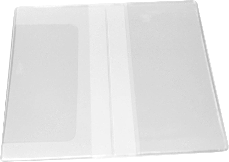 2 Year 2021 2022 Clear Vinyl Checkbook Size Calendar /& Note pad Set
